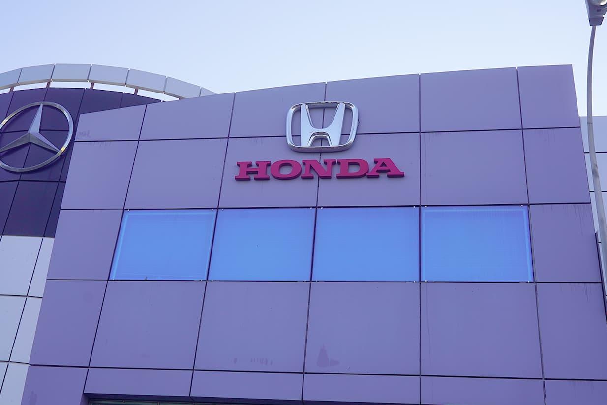 Concesionario coches Honda