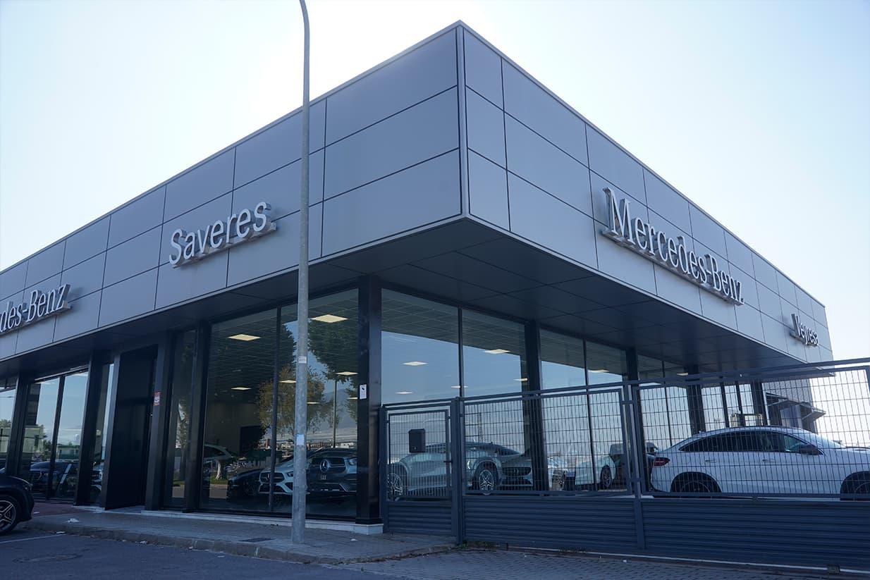 Concesionario Mercedes y Skoda